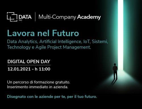 DATA Italy Multi-Company Academy: Open Day del 12 gennaio 2020